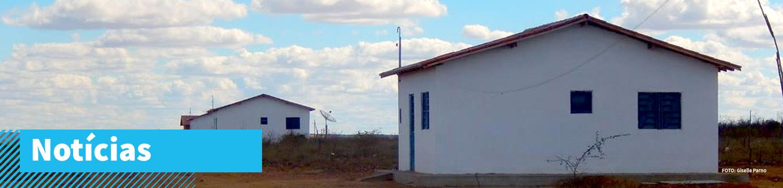 Casas rurais na caatinga