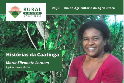 Agricultora Maria Silvanete Lermen